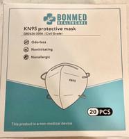 KN95 Folded Cone Mask Civilian Type 20pk (Bonmed)