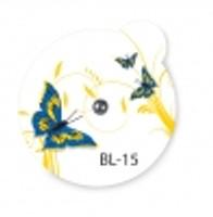 Suremark Skin Marker Beauty Line BL-15: 1.5mm lead ball on BeautyLine Butterfly label (110 per box)