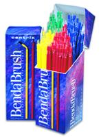 Benda Brush Regular (Med) Assorted Colors 144pk (Centrix)