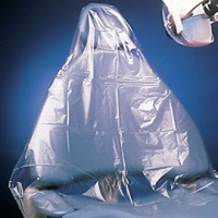 """Half Chair Sleeve Clear 27 1/2""""Wx24""""L, 5 x 225/Bx, 1125pcs *FREE Shipping by Pricenex*"""