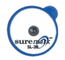 Powermark Skin Marker SL-30: 3.0mm lead ball on 15mm label (50 per box) Suremark