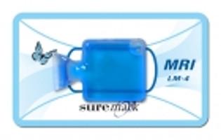 LiquiMark MRI Markers Skin Marker LM-4: LiquiMark 10mm square liqui-pouch MRI marker (40 per box) Suremark