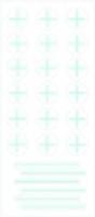 PortalMark Labels Skin Marker PM-250: PortalMark Isocenter/Field Line Sheets for darker skin surfaces (50 sheets per box) Suremark