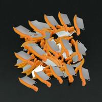 Interproximal dental wedge with metal guard Med/Orange 50pk Compare to Fender Wedge