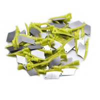 Interproximal Dental Wedges with Metal Guard Small/Green 50pk, Compare to Fender Wedge