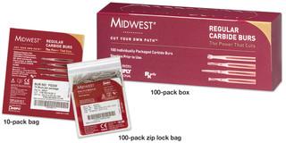 Midwest Carbide Bur FG 556 10pk (Dentsply)