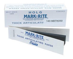 Mark-Rite Holg Articulating Paper Thick Blue 6pk (Ched-Markay)