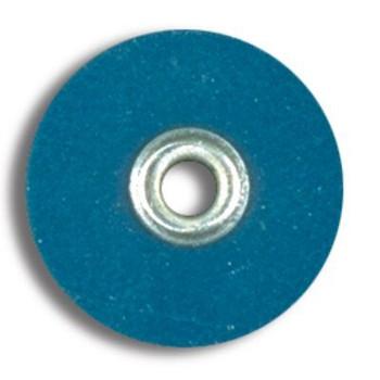 "Sof-Lex Discs, Medium 1/2"", Pop-On, Dark Blue, Package of 85."