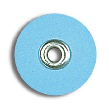 "Sof-Lex Discs, Superfine 1/2"", Pop-On, Light Blue, Package of 85."
