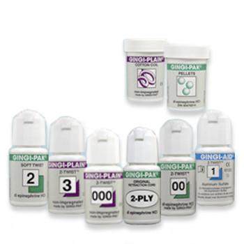 "Gingi-Pak MAX Soft Twist - #2 Medium, with Epinephrine, 100% Cotton, 108"" per Bottle."