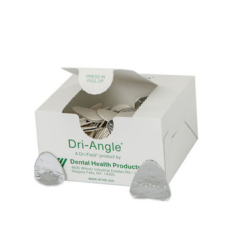 Dri-Angles Silver Coated, Large, Cotton Roll Substiture, Box of 320.