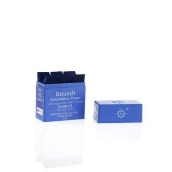 BK-01 Articulating Paper 200 Micron Blue Strips 300pk (Bausch)