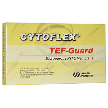 Cytoflex TEF-Guard Smooth 12mm x 24mm, Package of 10.