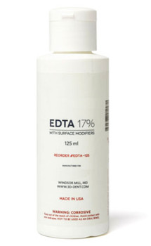 EDTA 17% concentration solution, 120 ml Bottle.