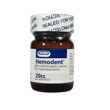Hemodent, 20cc Bottle (Premier)