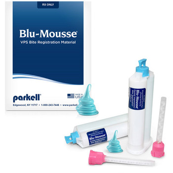 Blu-Mousse Scent-Free, SuperFast in SPLIT Cartridges (Parkell)