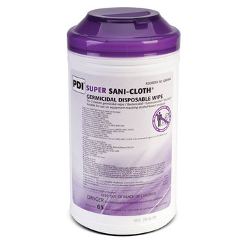 Super Sani-Cloth Surface Disinfectant X-Large Wipe 65 Count Canister