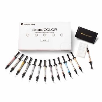 Estelite Color Kit, 13 Shades, 0.9g Syringe