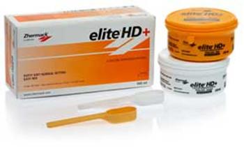 Elite HD+ Putty Soft, Regular Set - Orange, 250 mL Base and 250 mL