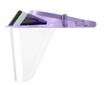 Op-D-Op II Visor Face Shield Kit Violet