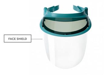 Op-D-Op Face Replacement Shield Only 3/pk, (No Visor)