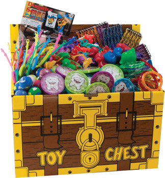 Assortment Of 500 Deluxe Toys, with Toy Chest.