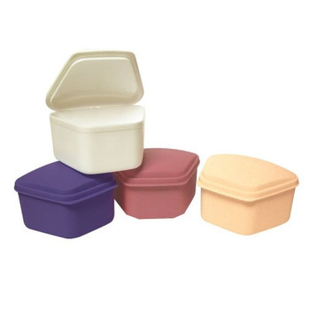 Defend Denture Box, Assorted Colors, Box of 12.