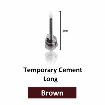 DX-Mixer Tips, Long Brown (5.0 cm length), 1:1 Ratio, 2.5 mm Inner Diameter, Pack of 50.