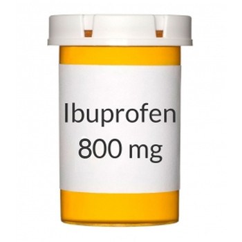 Ibuprofen Tablets, 800 mg, Bottle of 100.