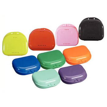 NIVO Retainer Box, Assorted Colors, Box of 12.