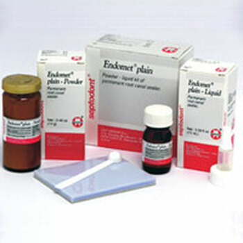 Endomet Root Canal Sealant Standard Package.