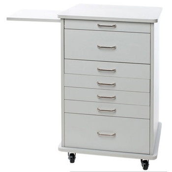 TPC Assistant's (North Carolina) Mobile Cabinet, White.