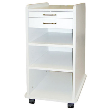 TPC Utility Mobile Cabinet, White.