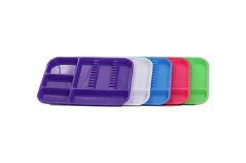 Nivo Dental Set-up Tray Divided Size B (Ritter) - Purple