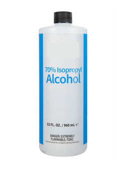 House Brand Isopropyl Alcohol 70% - 1 Quart Bottle
