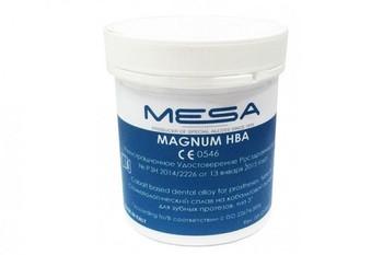 Mesa Dental Alloys For Prostheses : Magnum HBA Prosthesis (Cr - Co 2.2lb)