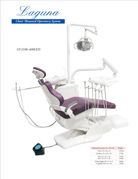 Laguna Chair Mounted Operatory Package with Cuspidor. ***Free Shipping***