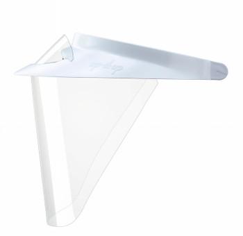 Op-D-Op ABS Face Shields Kit, White, Medium Size