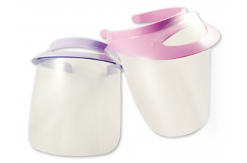 Face Visor & Shield, Blue Kit with 2 shields