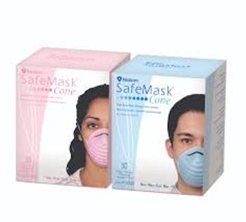 Safe Mask Cone Pink 50pk