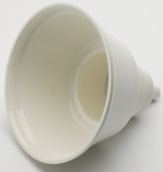 "DCI Dry Oral Cup, 4"" diameter x 4-1/2"" high, Each. White Autoclavable Plastic"