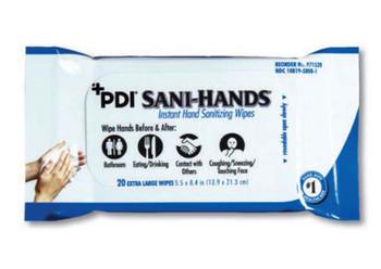 Sani-Hands Instant Hand Sanitizing Wipes Extra Large 20pk