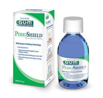 GUM® PerioShield™ Oral Health Rinse, 300mL (10 oz) Bottle, 6/cs (Item Cannot Ship During FREEZE)