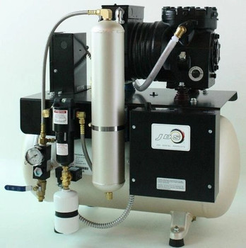 JM Oil-less CompressorJM122 (1x 2.0HP motor, 230V, 12 Gallons)