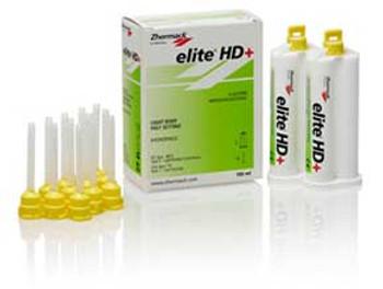 Elite HD+ Impression Material Light Body Fast Set 2x50ml+tips (Zhermack)