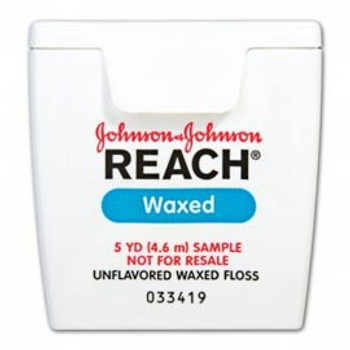 Dental Reach Floss Waxed Trial Size 5yd 144/Bx (J&J)