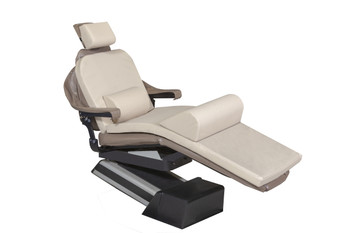 "MEDIPOSTURE Dental Chair Overlay System w/3.5"" ICORE MEMORY HEADREST Beige"