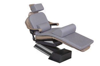 "MEDIPOSTURE Dental Chair Overlay System w/6"" ICORE GERIATRIC MEMORY HEADREST Gray"