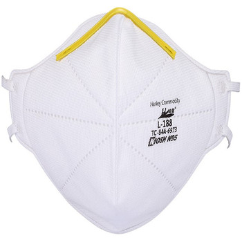 Harley N95 Particulate Respirator Foldable Cone Mask 20pk
