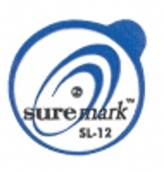 Suremark Skin Marker SL-12: 1.2mm Lead ball on 15mm label (110 per box)